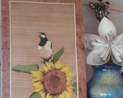 L'oiseau sur le soleil (2)