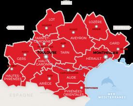 Nos partenaires en Occitanie