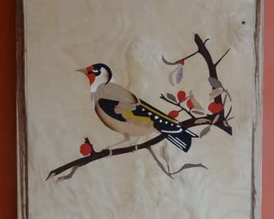 La branche et le chardonneret (the goldfinch)