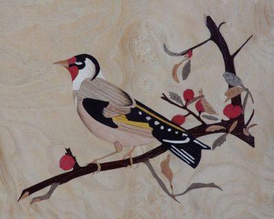 La branche et le chardonneret (the goldfinch)