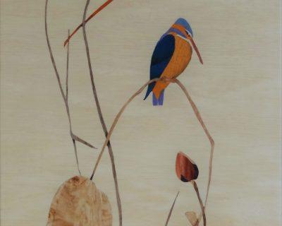 Le lotus et l'oiseau
