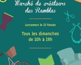 Marché des Ramblas à Toulouse : prochain rendez-vous le dimanche 3 mai